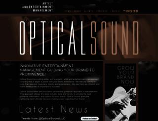 opticalsound.com screenshot