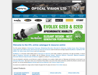 opticalvision.co.uk screenshot