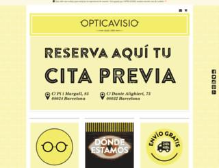 opticavisio.com screenshot