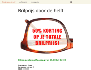 opticiengoes.nl screenshot