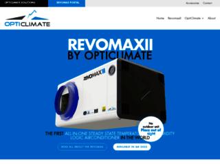 opticlimateshop.com screenshot
