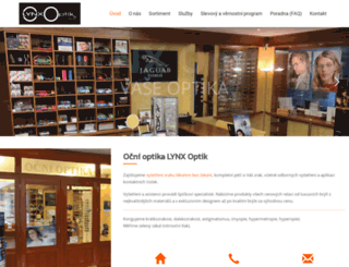 optika-pardubice.cz screenshot