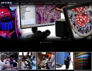 optikamicroscopes.com screenshot