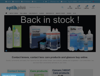 optikplus.de screenshot