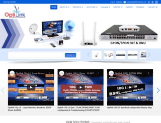 optilinknetwork.com screenshot
