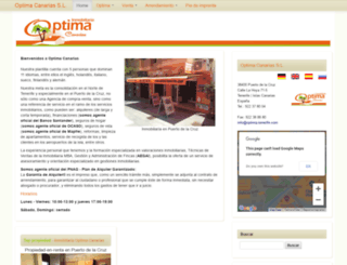 optima-tenerife.es screenshot
