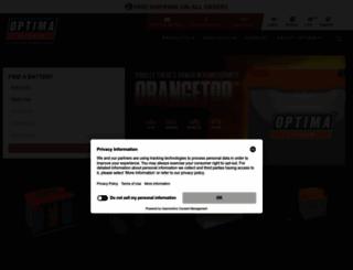 optimabatteries.com screenshot