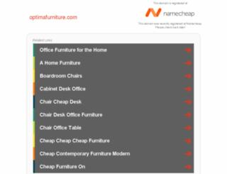 optimafurniture.com screenshot