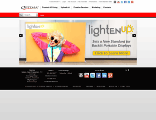 optimagfx.com screenshot