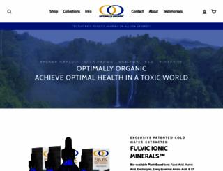 optimallyorganic.net screenshot