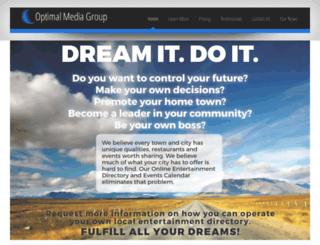 optimalmedia.net screenshot