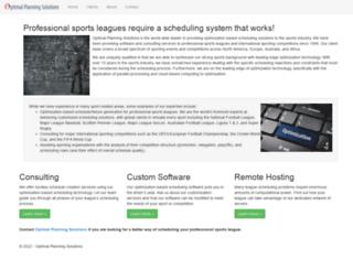 optimalplanning.com screenshot