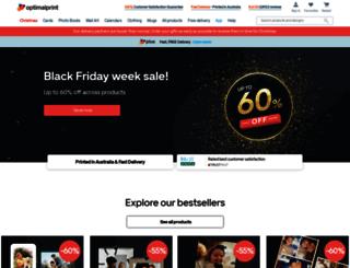 optimalprint.com.au screenshot