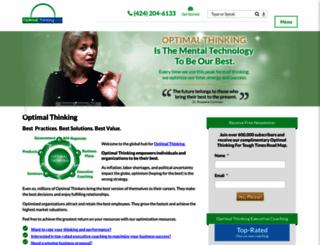 optimalthinking.com screenshot