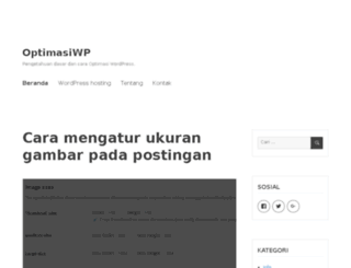 optimasiwp.com screenshot