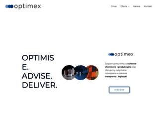 optimex.pl screenshot