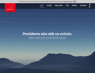 optimics.cz screenshot