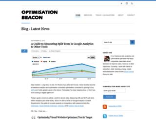 optimisationbeacon.com screenshot