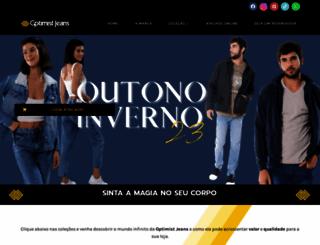optimistjeans.com.br screenshot