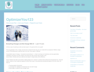 optimizeyou123.com screenshot