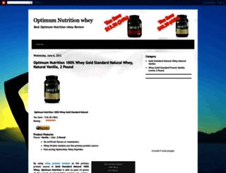 optimum-nutrition-whey-gold.blogspot.com screenshot