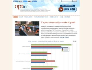 optinpanel.org screenshot