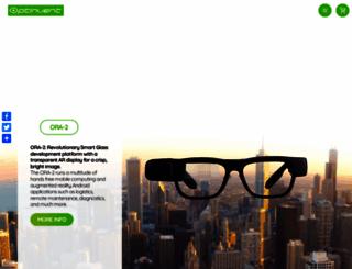 optinvent.com screenshot