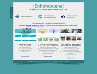 option-binaire.eu screenshot