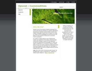 option-investments.webnode.com screenshot