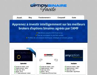 optionbinairefacile.com screenshot