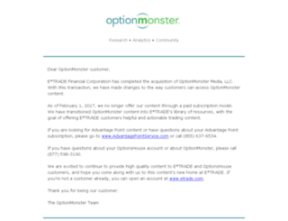optionmonster.com screenshot