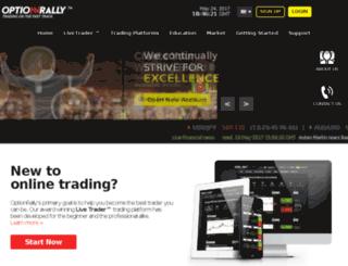 optionrally.com.au screenshot