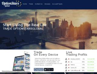 optionstarsglobal.com screenshot