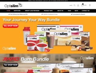 optislim.com.au screenshot