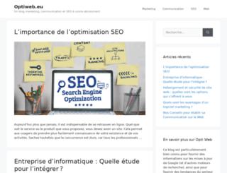 optiweb.eu screenshot
