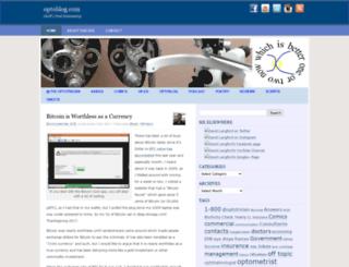 optoblog.com screenshot