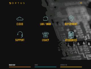optusinc.com screenshot