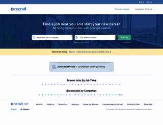 optuszoo.recruit.net screenshot