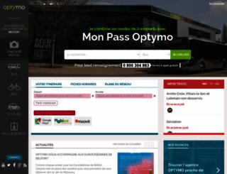 optymo.fr screenshot