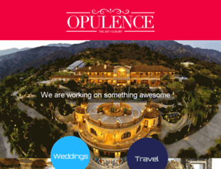 opulencetravel.com screenshot