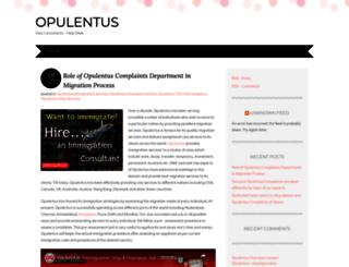 opulentuzcomplaints.wordpress.com screenshot