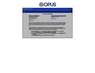opus.gmea.org screenshot