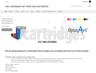 opusart.nl screenshot
