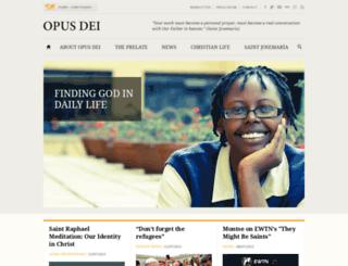 opusdei.org.uk screenshot