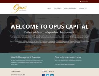 opusinc.com screenshot