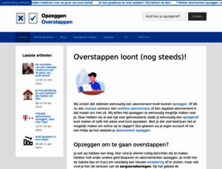 opzeggenoverstappen.nl screenshot