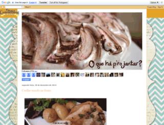 oquehaprojantar.blogspot.com screenshot