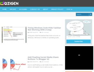 oqzigen.com screenshot