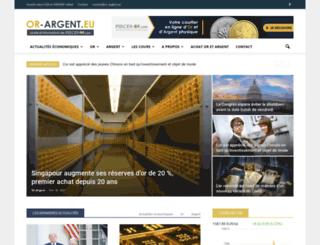 or-argent.eu screenshot
