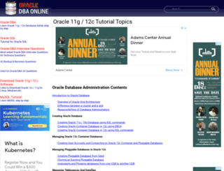 oracle-dba-online.com screenshot